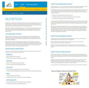 Read more about the article Nutrition Program '15